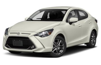 2019 Toyota Yaris - Vapour White (Clear)