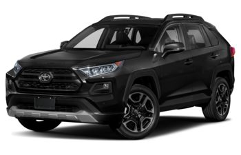 2019 Toyota RAV4 - Blue Flame w/White Roof