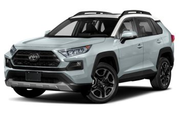 2021 Toyota RAV4 - Lunar Rock w/Ice Edge Roof