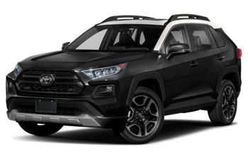 2019 Toyota RAV4 - Midnight Black Metallic w/White Roof