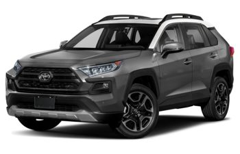 2021 Toyota RAV4 - Magnetic Grey Metallic w/Ice Edge Roof