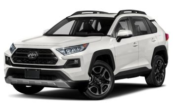 2019 Toyota RAV4 - Magnetic Grey Metallic w/White Roof