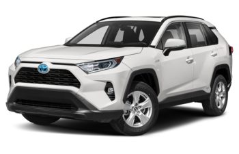 2019 Toyota RAV4 Hybrid - Super White