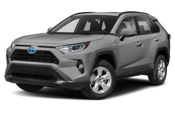 2020 Toyota RAV4 Hybrid - Silver Sky Metallic w/Black Roof
