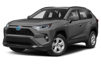 2021 Toyota RAV4 Hybrid - Magnetic Grey Metallic w/Black Roof