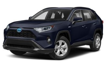 2021 Toyota RAV4 Hybrid - Blueprint w/Black Roof