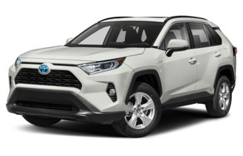 2020 Toyota RAV4 Hybrid - Blizzard Pearl with Black Roof