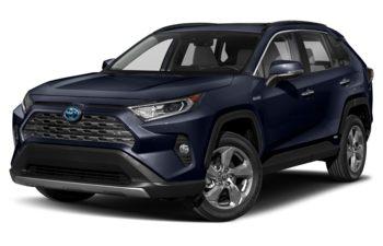 2020 Toyota RAV4 Hybrid - Blueprint