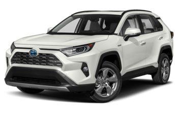 2020 Toyota RAV4 Hybrid - Blizzard Pearl