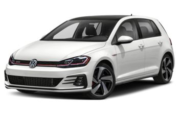 2021 Volkswagen Golf GTI - Pure White