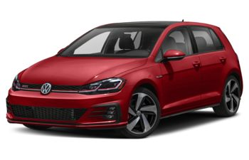 2021 Volkswagen Golf GTI - Tornado Red