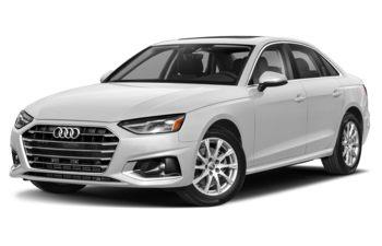 2020 Audi A4 - Glacier White Metallic