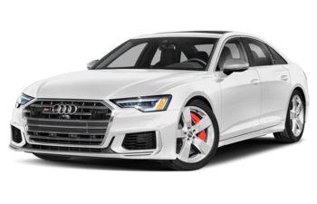 2021 Audi S6 - Glacier White Metallic
