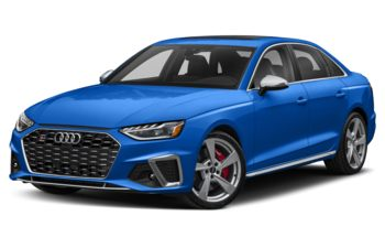 2021 Audi S4 - Turbo Blue