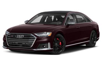 2021 Audi S8 - Seville Red Metallic