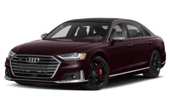 2021 Audi S8 - Seville Red Metallic