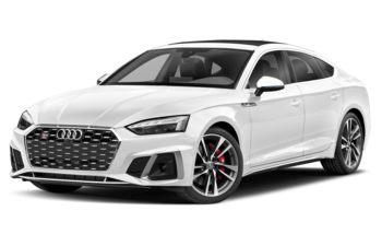 2021 Audi S5 - Glacier White Metallic