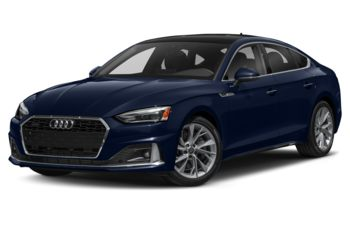 2021 Audi A5 - Navarra Blue Metallic