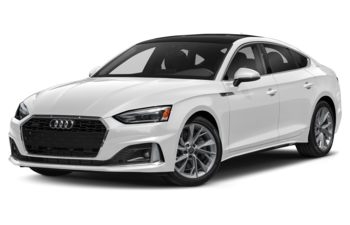 2021 Audi A5 - Glacier White Metallic