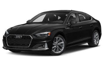 2020 Audi A5 - Brilliant Black