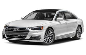 2021 Audi A8 e - Glacier White Metallic