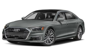 2021 Audi A8 e - Monsoon Grey Metallic