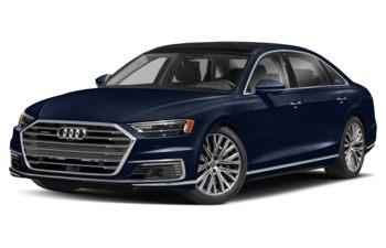 2021 Audi A8 e - Navarra Blue Metallic