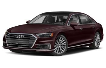 2021 Audi A8 e - Seville Red Metallic