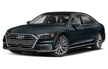 2021 Audi A8 e - Moonlight Blue Metallic