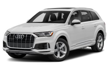 2021 Audi Q7 - Glacier White Metallic
