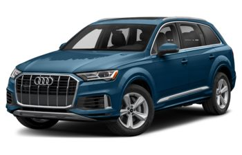 2021 Audi Q7 - Galaxy Blue Metallic