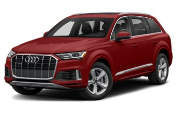 2021 Audi Q7 - Matador Red Metallic
