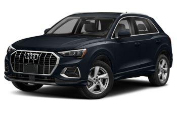 2019 Audi Q3 - Cosmos Blue Metallic