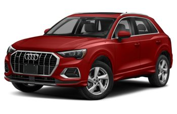2021 Audi Q3 - Tango Red Metallic