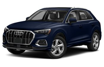 2021 Audi Q3 - Navarra Blue Metallic