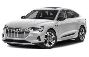 2020 Audi e-tron - Glacier White Metallic