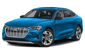 2020 Audi e-tron - Antigua Blue Metallic