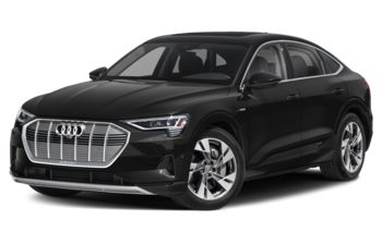 2020 Audi e-tron - Brilliant Black