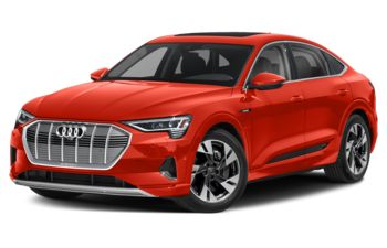 2020 Audi e-tron - Catalunya Red Metallic