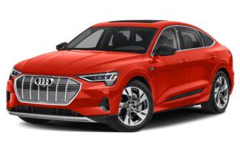 2020 Audi e-tron - Catalunya Red Metallic