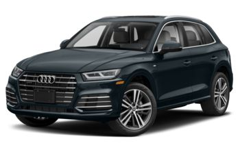 2020 Audi Q5 e - Moonlight Blue Metallic