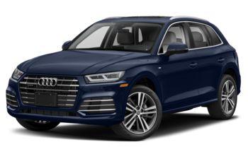 2020 Audi Q5 e - Navarra Blue Metallic