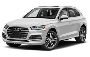 2020 Audi Q5 e - Glacier White Metallic