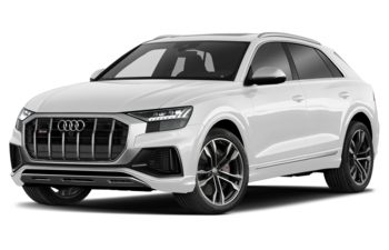 2021 Audi SQ8 - Glacier White Metallic