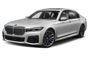 2021 BMW 750 - Mineral White Metallic