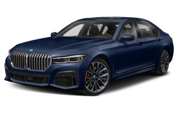 2021 BMW 750 - Tanzanite Blue Metallic