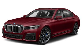 2021 BMW 750 - Aventurine Red Metallic