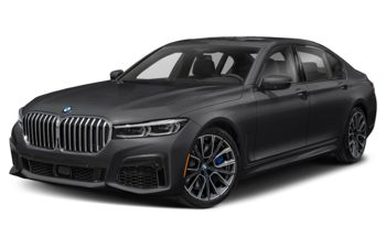2021 BMW 750 - Frozen Arctic Grey