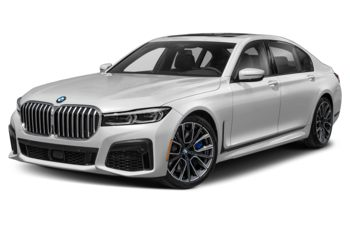2021 BMW 750 - Brilliant White Metallic