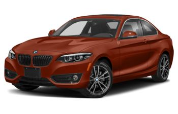 2021 BMW 230 - Sunset Orange Metallic